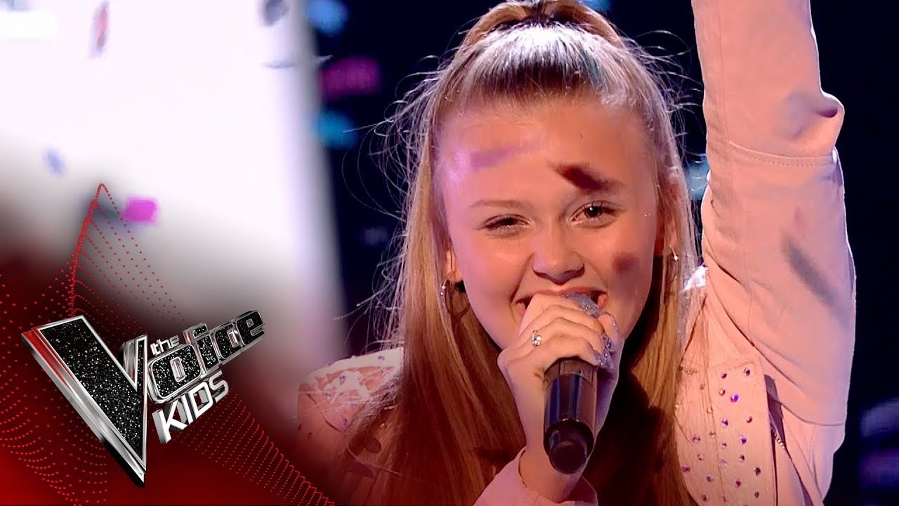 Jess Performs Love On Top Live Final The Voice Kids Uk 2017 Youtube