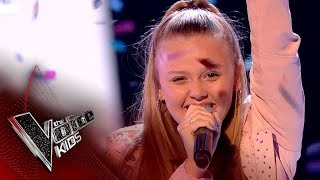 Jess performs 'Love On Top': Live Final | The Voice Kids UK 2017