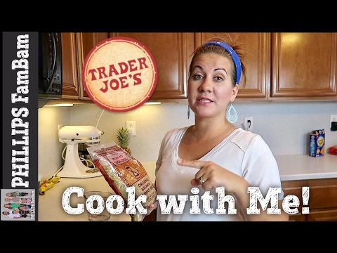 COOK WITH ME | TRADER JOE'S TERIYAKI CHICKEN & BROWN RICE BO