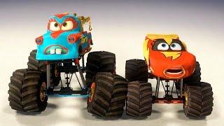 Мультики Про Машинки. Тачки Мультачки Мэтр Великий Рестлер Часть 1. Молния МАКВИН Disney Pixar