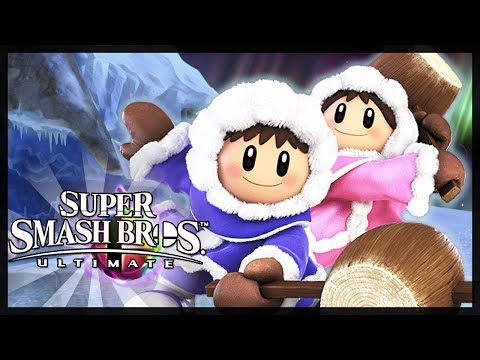 Ice Climbers Classic Mode - Super Smash Bros Ultimate (Co-Op)