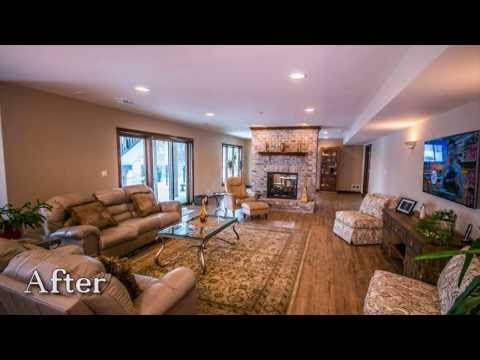 Walkout Basement Remodel by KLM Builders and Remodelers