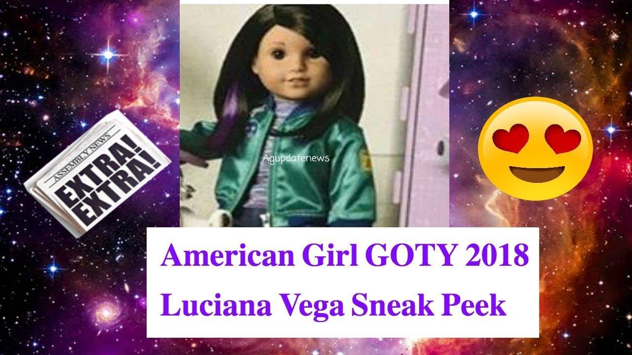 Ameriška punčka Goty 2018 Luciana Vega Doll Reveal - Youtube-6640