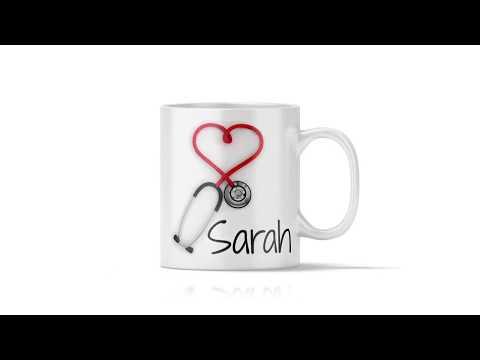 Nurse and Doctors Personalized Gift Mug