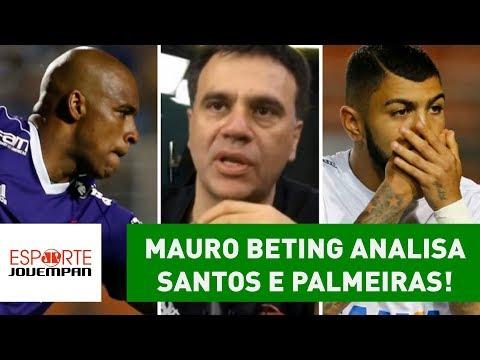 Mauro Beting Exalta JAILSON E Analisa Santos 0 X 1 Palmeiras!