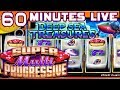 60 MINUTES LIVE: DEEP SEA TREASURES ★ PROGRESSIVE WINS ✦ AT THE SLOT MUSEUM