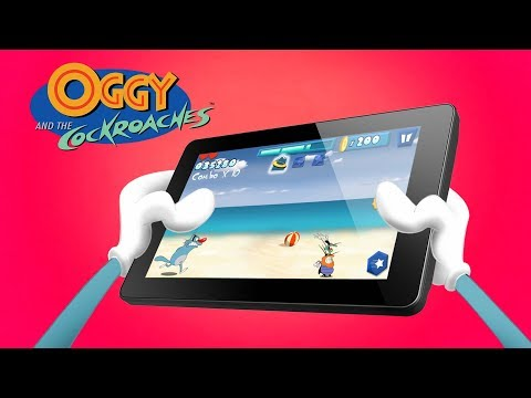 Oggy And The Cockroaches - 📱OGGY RUNNER GAME 📱- Launch Trailer 💙