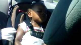 2 and a half year old sings Donnie McClurkin Worthy is the Lamb