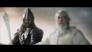 Video Lord of the Rings- Gandalf and Eomer helping Rohan on the Two Towers download MP3, 3GP, MP4, WEBM, AVI, FLV Juni 2017