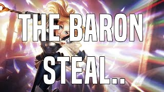 Bjergsen - The Baron Steal..