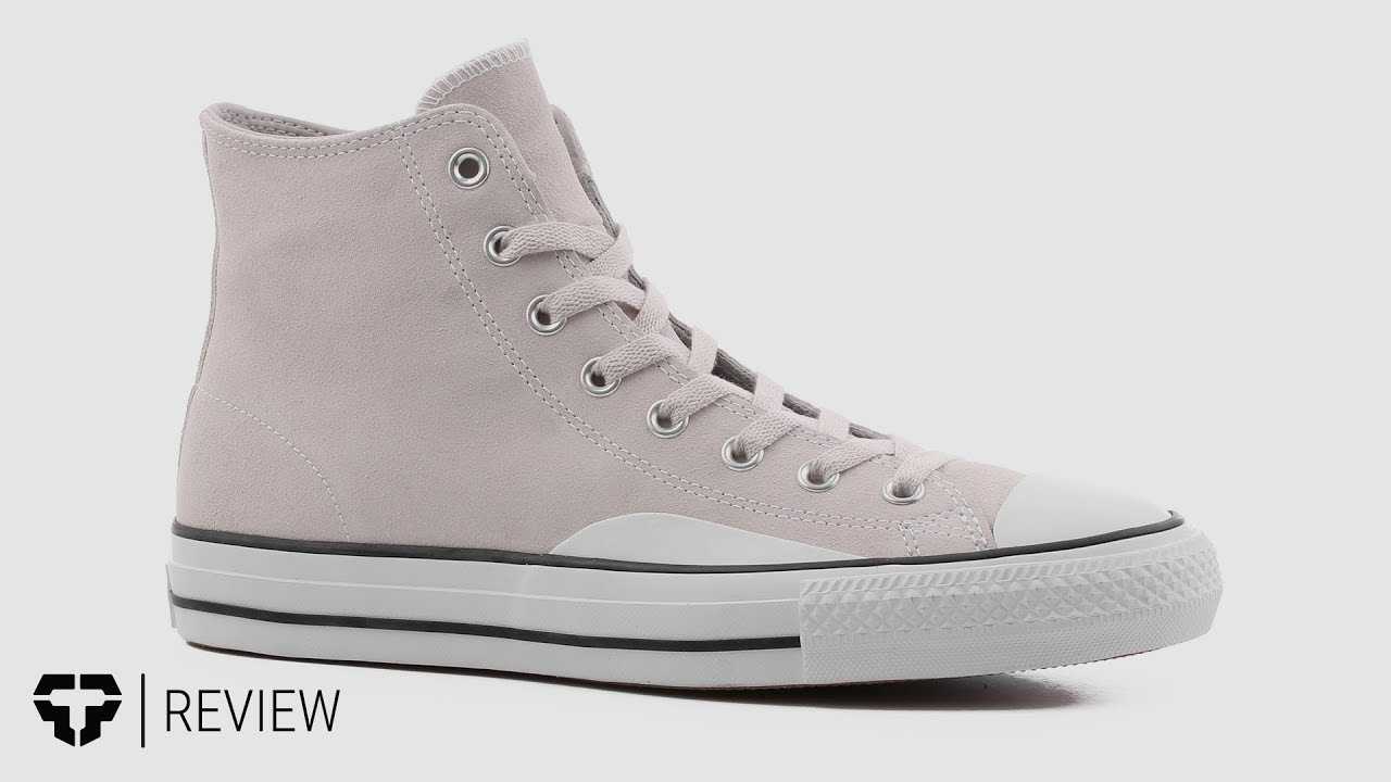 0ed7e9f1974689 Converse Chuck Taylor High Skate Shoes Review - Tactics.com - YouTube