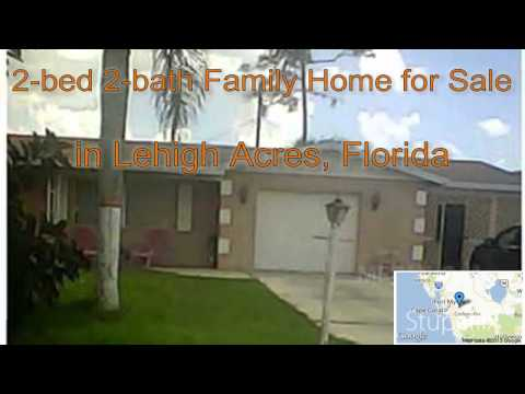 2-bed 2-bath Family Home for Sale in Lehigh Acres, Florida on florida-magic.com