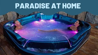 Bring Paradise Home with a Coast Spas Hot Tub