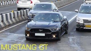 BLACK FORD MUSTANG GT IN MUMBAI