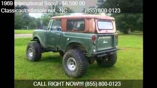 1969 International Scout  - for sale in , NC 27603 #VNclassics