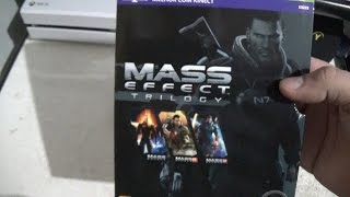 Unboxing - MASS EFFECT TRILOGY PT-BR XBOX 360