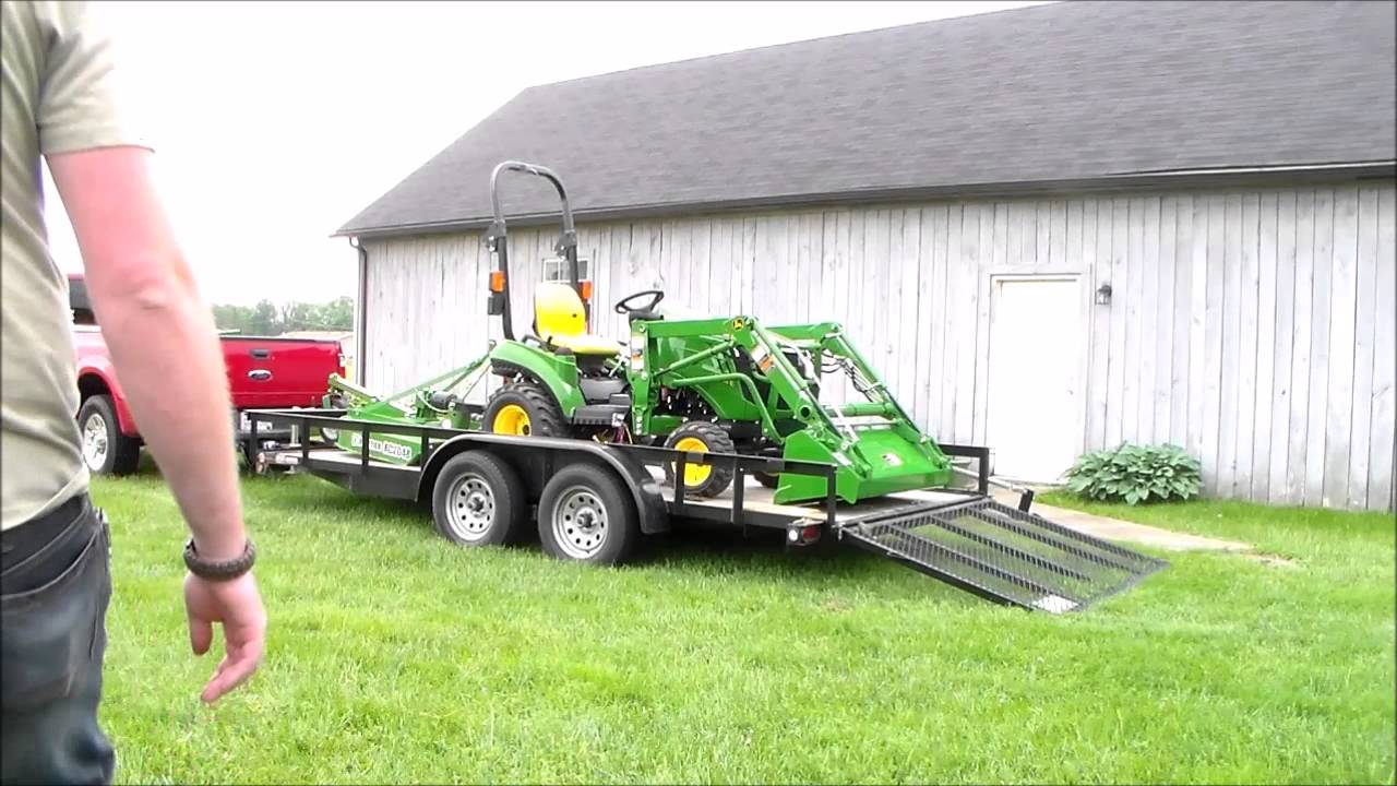 how to use tractor implements