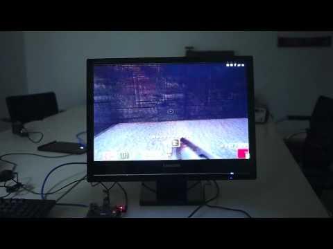 Raspberry Pi -  Quake 3 demo