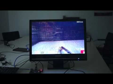 Raspberry Pi -  Quake 3 demo