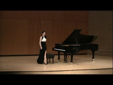 Alina Uddin plays Scarlatti Sonatas K.443, K.466, K.141. Master's concert at Dudley Hall, April 24, 2014