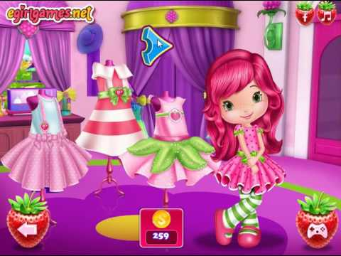 Мультик игра Шарлотта Земляничка на шопинге (Strawberry Shopping Spree)