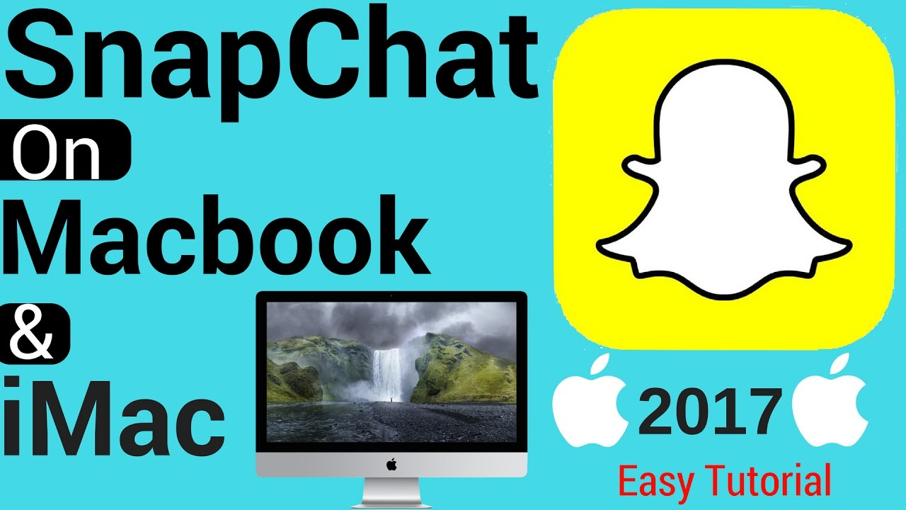 how to use snapchat on mac