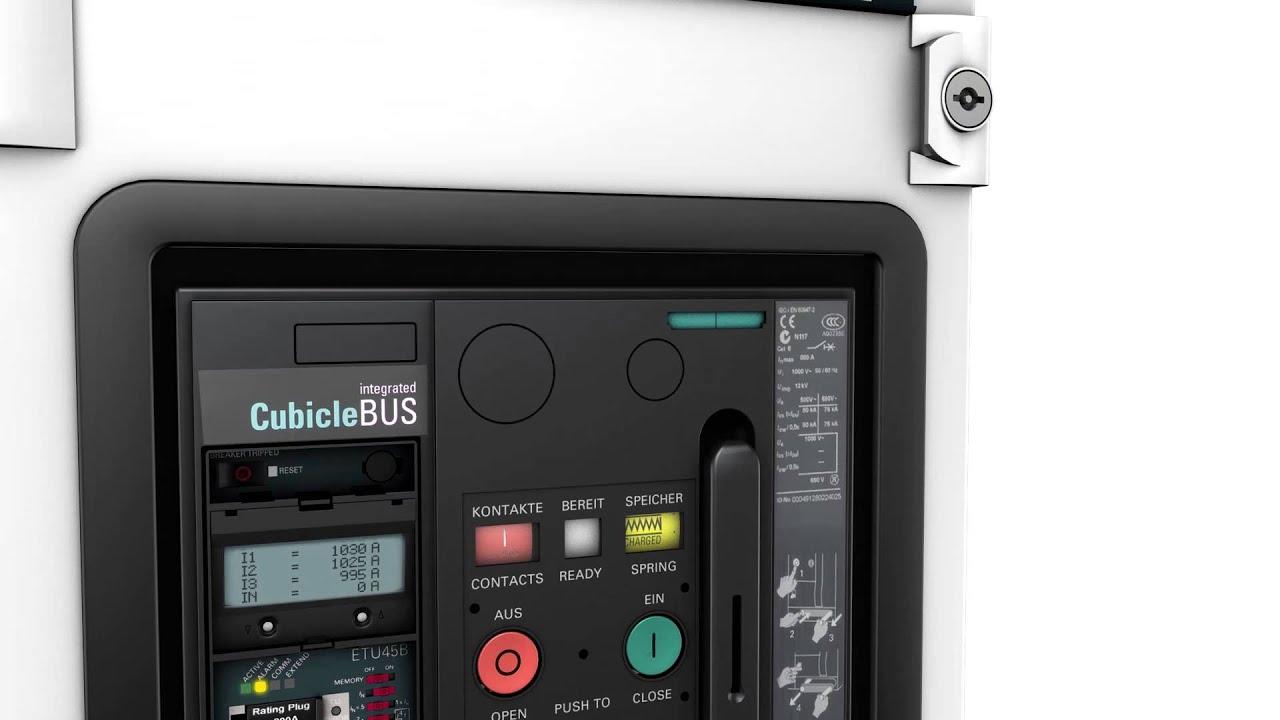 Amazing Siemens Offene Leistungsschalter 3WL Kommunikationsfähigkeit