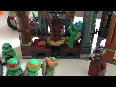Лего черепашки ниндзя