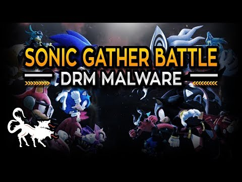 Sonic Gather Battle fan made game reported to be Malware