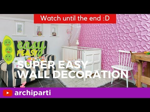 Bedroom Wall Decorating Ideas: EAST DIY Tips For Bedroom Decor 🦋| inquiries: projects@archiparti.co