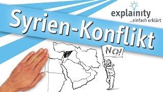 Syrien-Konflikt einfach erklärt (explainity® Erklärvideo)