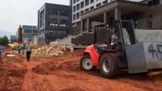 Manitou 5 ton Rough Terrain Forklift 、5 ton all terrain forklift VS AUSA 5 ton all terrain forklift