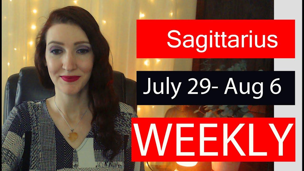 Sagittarius WEEKLY LOVE TAROT