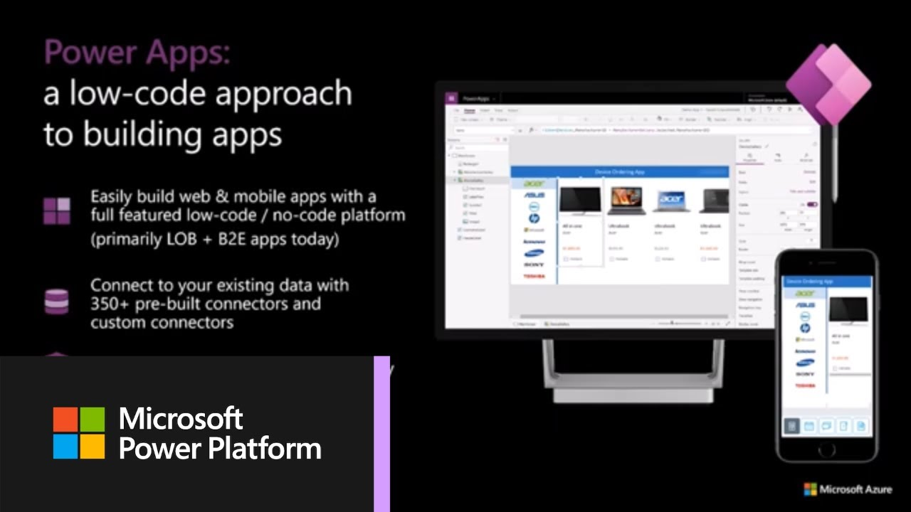 Build Applications in Minutes with Power Apps and Microsoft Azure