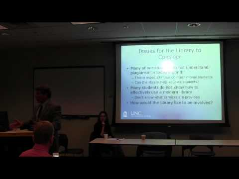 Graduate Students @ UNC: Who Are They & How Do They Use the Library?