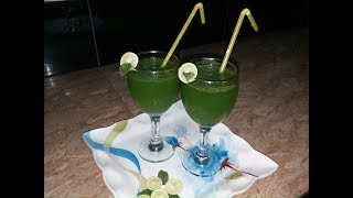 Mint margarita drink ispacial for fittnes and fair glowing skin Easy cooking with as