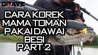 Download Lagu Cara KOREK Mama Toman mengunakan DRAVE Spinnerbait - Part 2/2 mp3