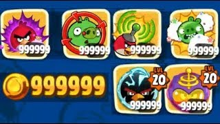 Angry Birds Seasons New Hack Powerups Gold Coins Unlimited