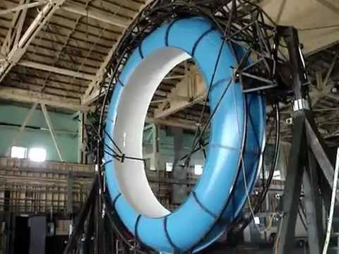 Insane indoor water slide - YouTube
