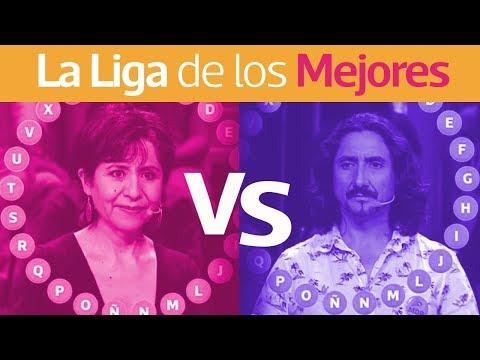 Pasapalabra | La Liga De Los Mejores | Ledy Osandón Vs Freddy Rivera