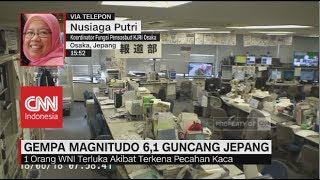 Video Gempa Magnitudo 6,1 Guncang Jepang, 1 WNI Dilaporkan Terluka download MP3, 3GP, MP4, WEBM, AVI, FLV Juni 2018