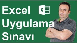 Excel Uygulama Sınavının 11. Sorusu ve çözümü - 398.video   Ömer BAĞCI