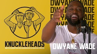 Dwyane Wade Joins Knuckleheads with Quentin Richardson and Darius Miles