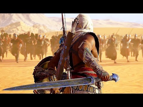 Assassins Creed: Origins All Cutscenes Movie