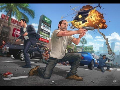 Grand Theft Auto V : ตํารวจภาคนี้สุดยอด