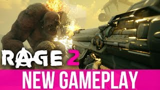 RAGE 2 NEW EXCLUSIVE GAMEPLAY - Jungle, New Weapons & Vehicle