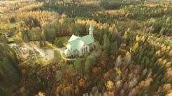 Heinäveden kirkko syksyllä 2015