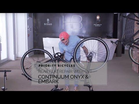 Continuum Onyx Rear Flat Repair - Nuvinci CVT - YouTube