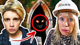 EXPLORING ABANDONED HAUNTED ASYLUM (w/Morgz) *Activity CAUGHT on Camera*