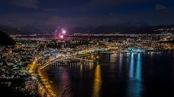 Bregenz at Night in 4k